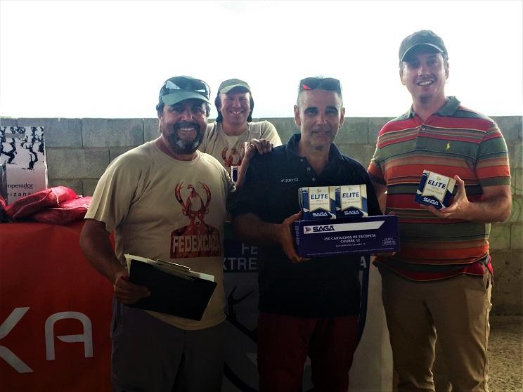 Ángel Luis Gordillo repite victoria en el Campeonato de Extremadura de Recorridos de Caza
