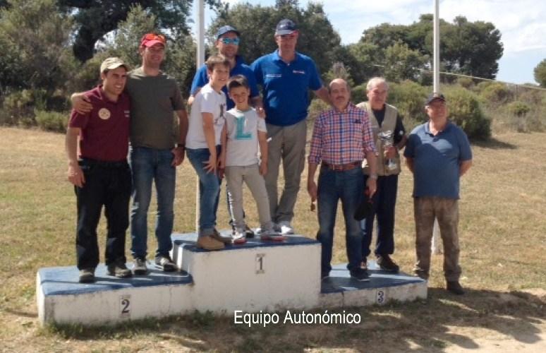 La Federación Madrileña celebra con notoria asistencia el Campeonato Autonómico de Recorridos de Caza