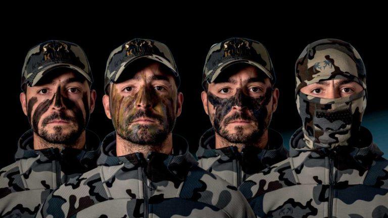 Diferentes formas de camuflar la cara para cazar ciervos, jabalíes o corzos en rececho. @Pedro Ampuero