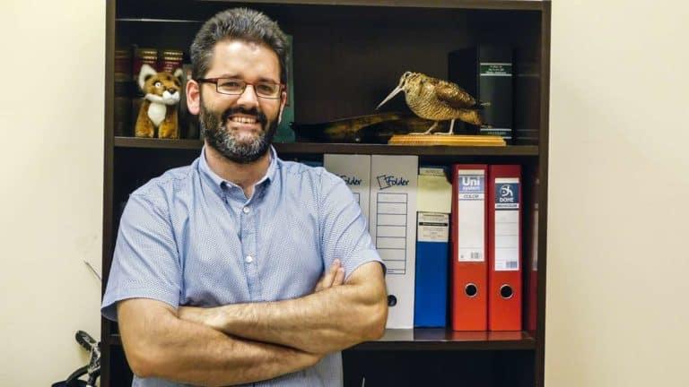 Carlos Sánchez, coordinador del Proyecto Zorzales. ©JyS