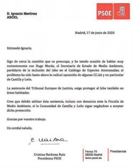 Reproducción de la carta publicada por La Nueva España. /LNE