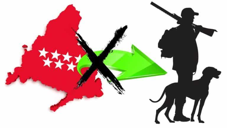 Los cazadores no podrán salir Madrid para acudir a cotos de otras comunidades durante el cierre perimetral.