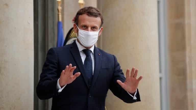 caza paralizada francia emmanuel macron