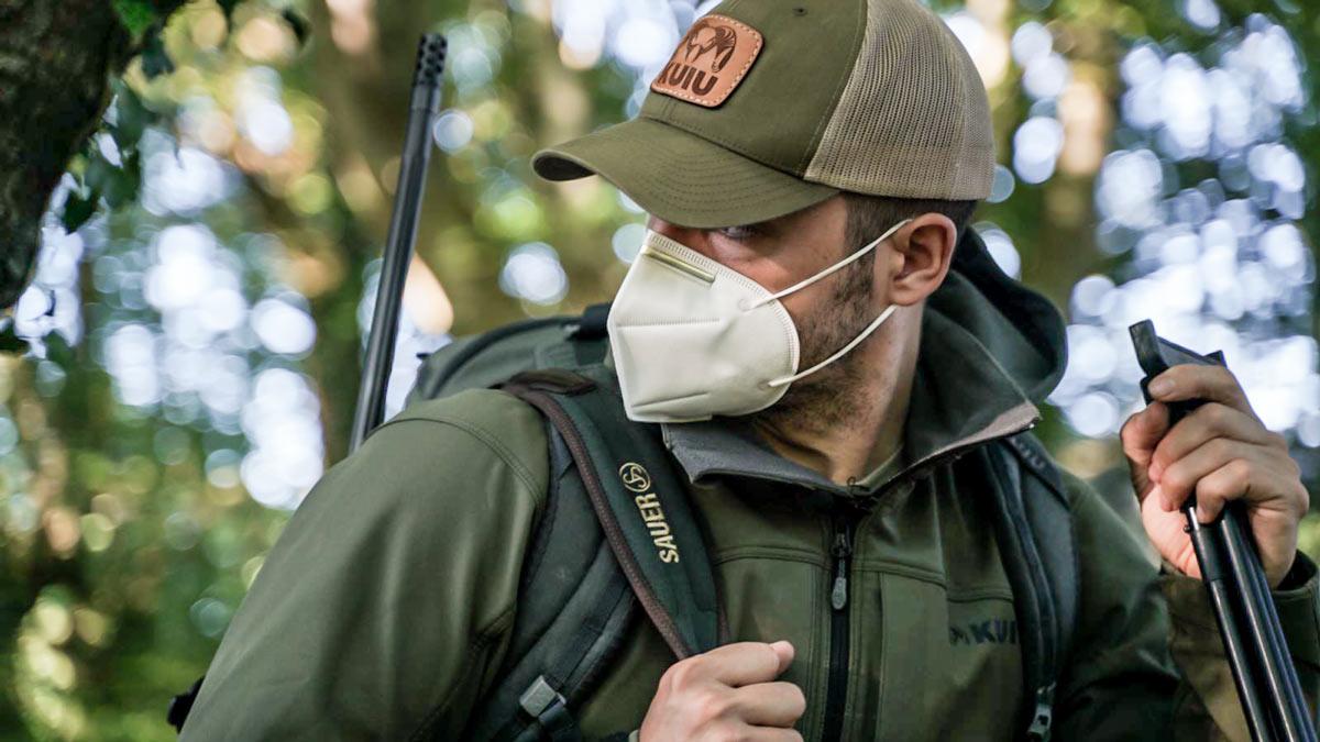 mascarilla caza y pesca