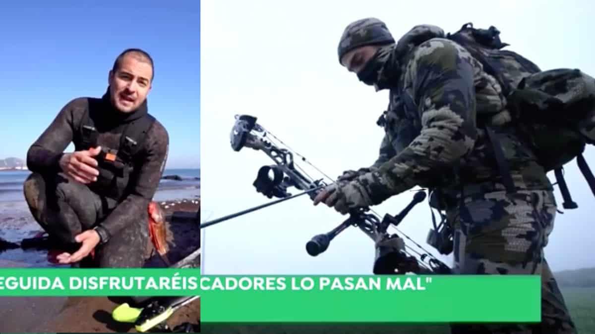 La caza y la pesca vuelven a ser protagonistas en Antena 3 Noticias