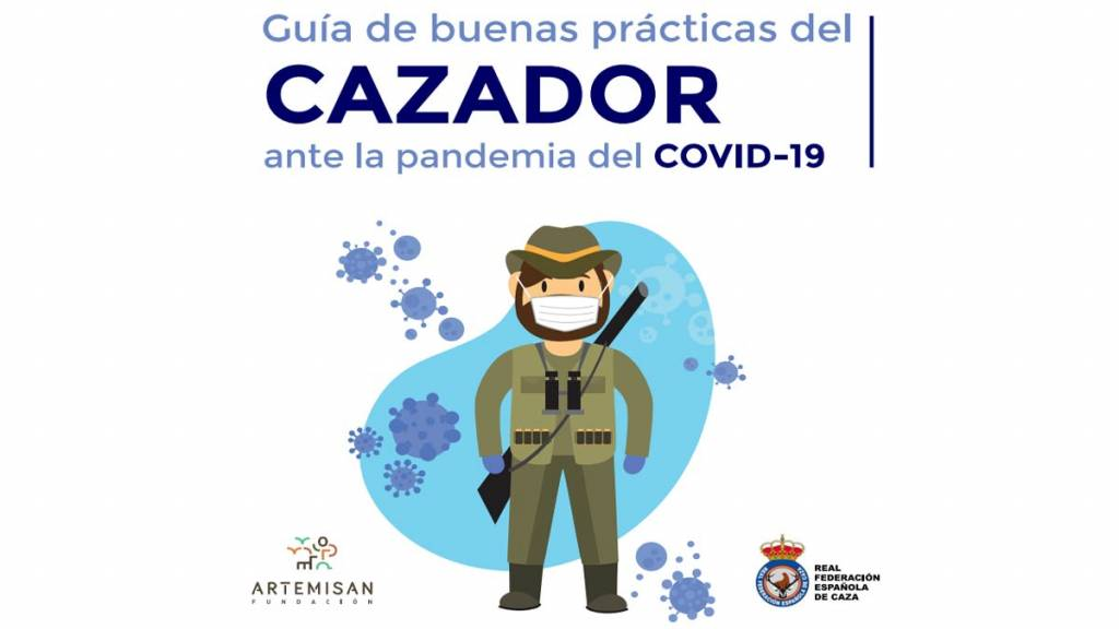 cazar coronavirus cazador