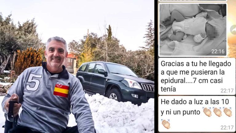 Daniel Alonso Vives y el mensaje de agradecimiento de una chica que pudo dar a luz en el hospital gracias a él.