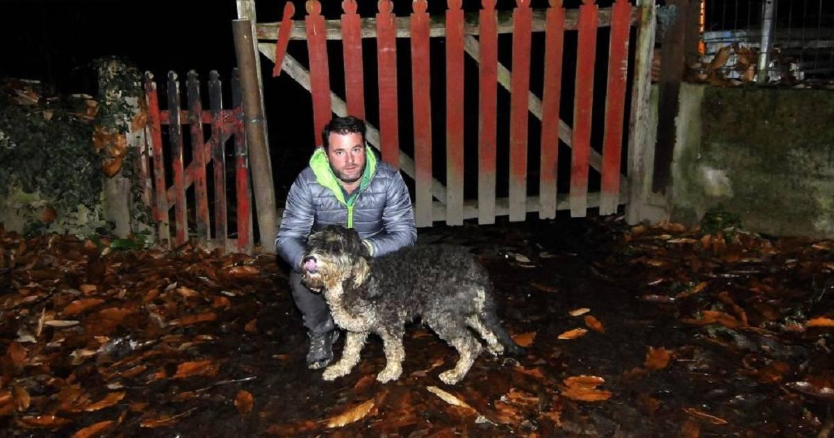 Un cazador escala un precipicio de más de 120 metros para salvar a su perro