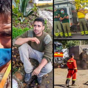 Juan Luis Esquina, el héroe cazador que guió a los bomberos entre las llamas de los incendios de Huelva