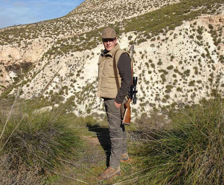 Fernando Cano, el joven cazador.
