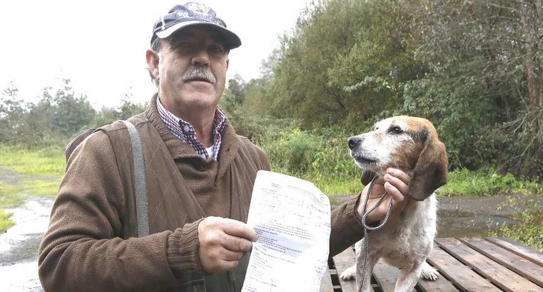 Una protectora de animales captura el perro de un cazador y le cobra por devolvérselo