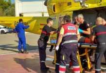 cazador rescate helicoptero