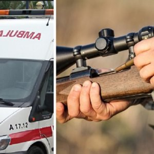 Un cazador se dispara en el pecho al caer de un árbol durante una espera