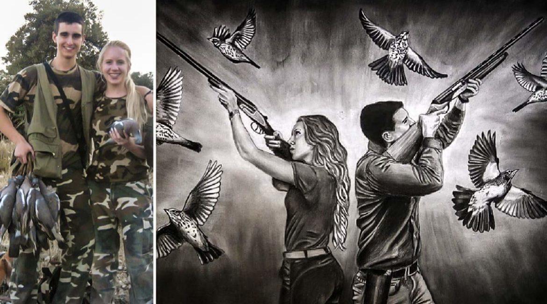 «La caza no es como la pintan los animalistas», el testimonio de una joven que se hizo cazadora por amor