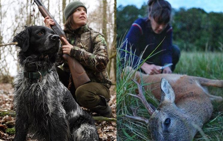 Marijke Ottema cazadora animalista