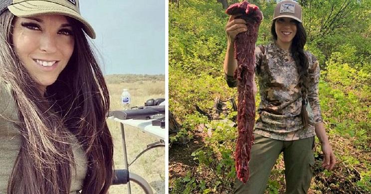 Amenazan con asesinar y violar a la hija de una cazadora por publicar fotos en Instagram