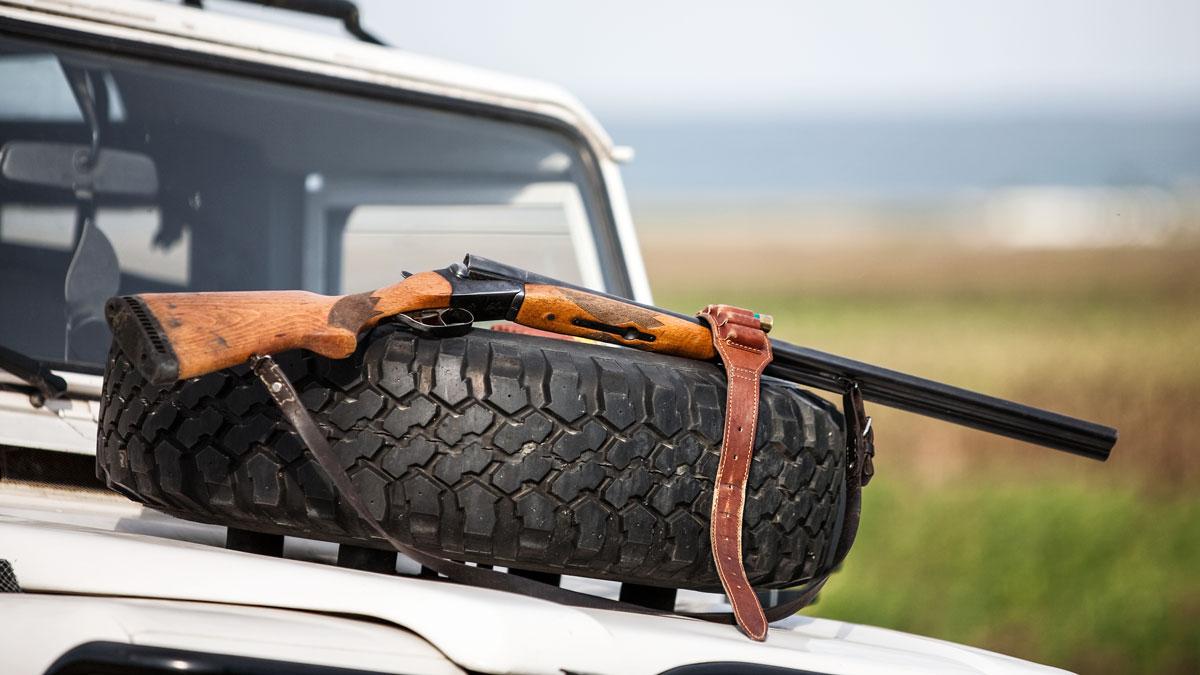 Coche de cazadores. /Shutterstock