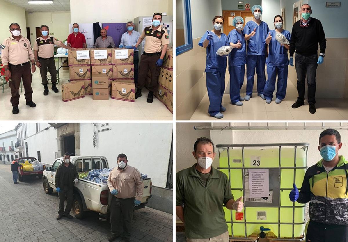 Los cazadores andaluces donan más de 55.000 euros para luchar contra el coronavirus