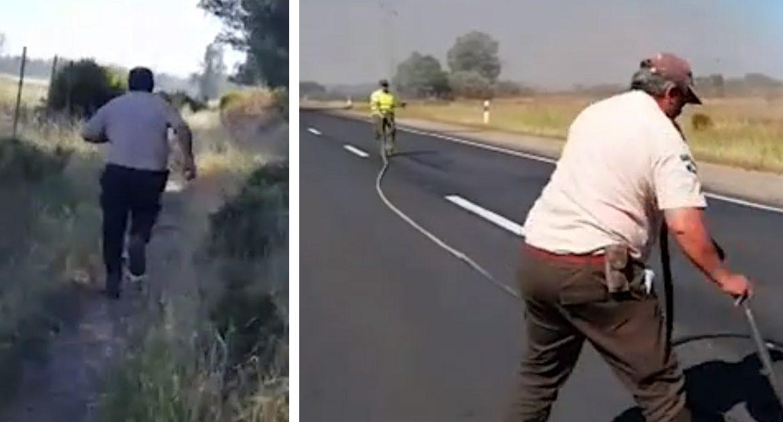 Controlado el incendio contra el que han luchado los cazadores en Doñana