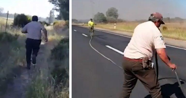 cazadores ayudan extinguir incendio doñana