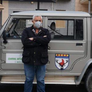 Los cazadores valencianos colaboran con las tareas de desinfección del COVID-19