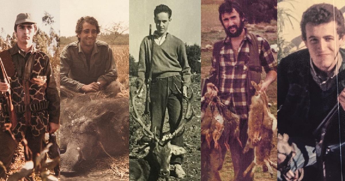 16 cazadores conocidos que serás incapaz de reconocer en sus fotos de juventud