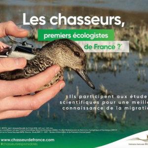 Los cazadores franceses lanzan una campaña de imagen sin precedentes