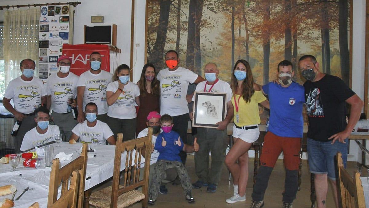 Los cazadores se vuelcan en la lucha contra el cáncer infantil