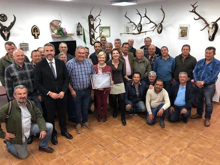 Cazadores andaluces recaudan miles de euros para la Asociación Española Contra el Cáncer