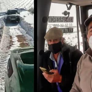 Los cazadores de la Comunidad Valenciana se movilizan para ayudar a sus vecinos tras las nevadas