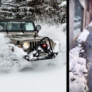 Un ejército de cazadores en 4x4 ayuda en Madrid tras la nevada: «Hemos atendido más de 400 emergencias»