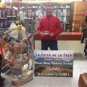 Esta cesta de Navidad con regalos de caza y pesca está valorada en 75.000 euros