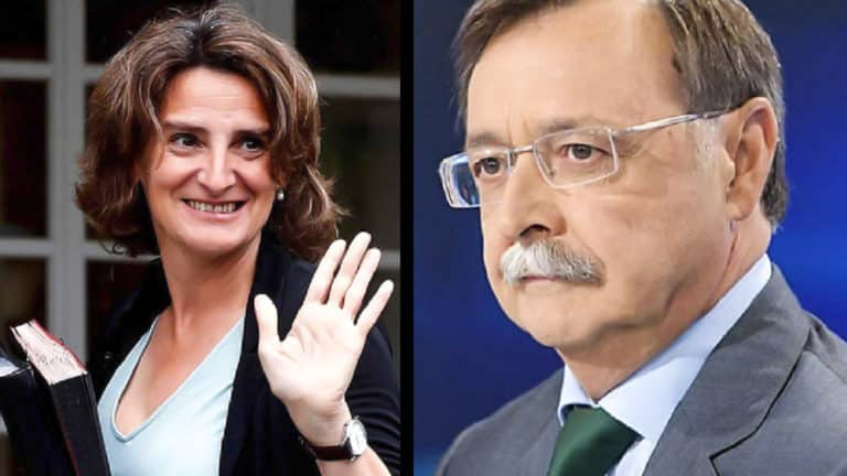 Teresa Ribera y Juan Vivas