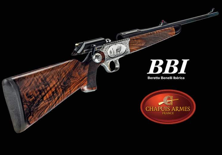 BBI trae a España las armas Chapuis con el rifle de cerrojo rectilíneo Rols como protagonista