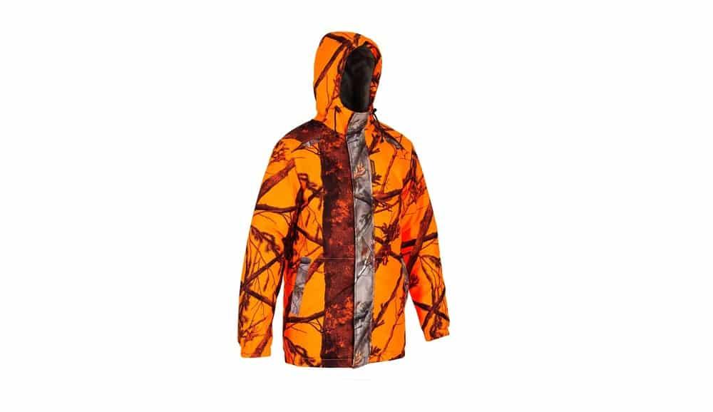 chaqueta de caza fluor Solognac 100 hombre