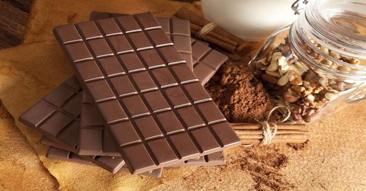 9 formas de usar una tableta de chocolate en una situación de supervivencia