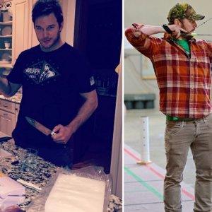 El actor Chris Pratt muestra una vez más su faceta de cazador