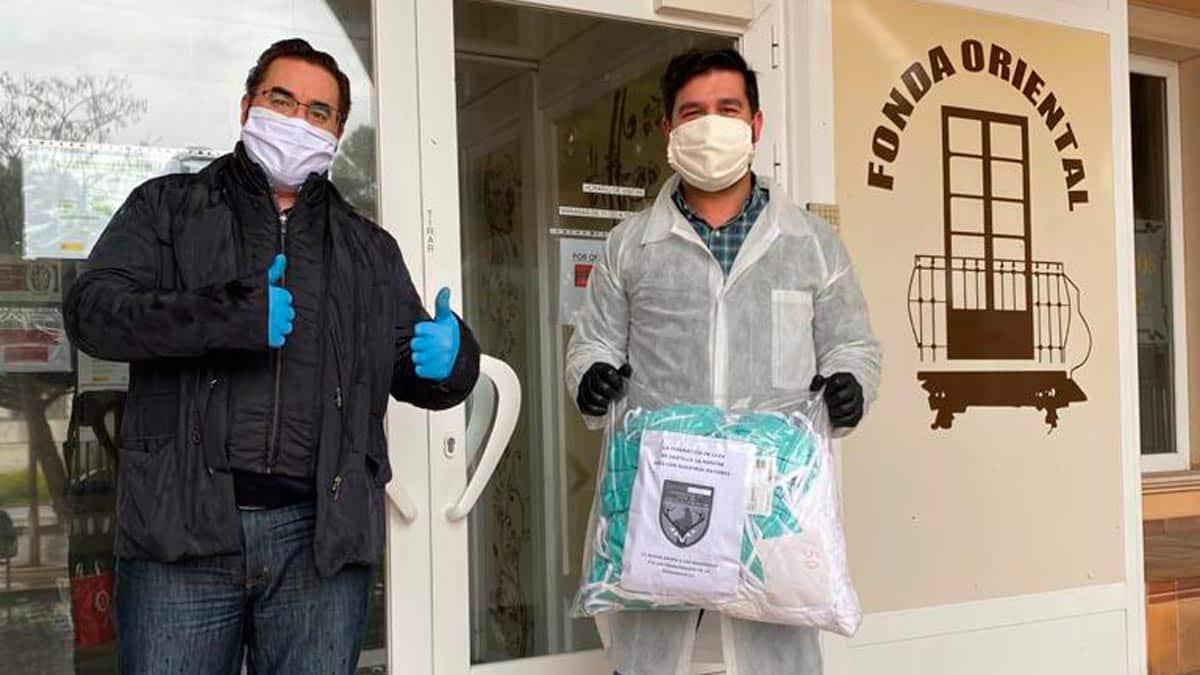 La Federación de caza de CLM dona mascarillas contra el coronavirus a varias residencias de la región