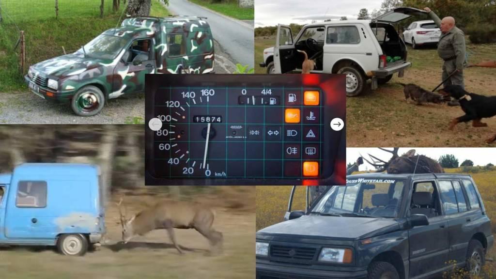 coches para ir de caza