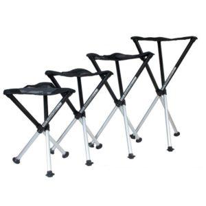 Walkstool presenta su exclusiva silla plegable con tres patas telescópicas