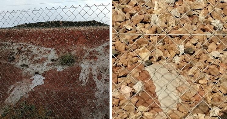 La presión de los cazadores hace que Adif retire el cemento con el que tapó madrigueras de conejos en Jaén