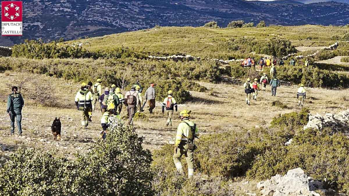 Continúa la agónica búsqueda del cazador desaparecido el pasado domingo en Castellón