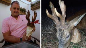 Cazan uno de los corzos más grandes de Navarra después de tres años tras su pista