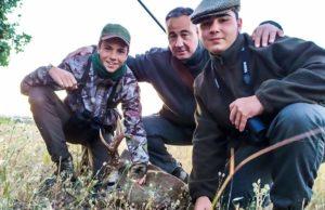 Caza un corzo con unas rosetas de 17,5 centímetros de grosor en Madrid