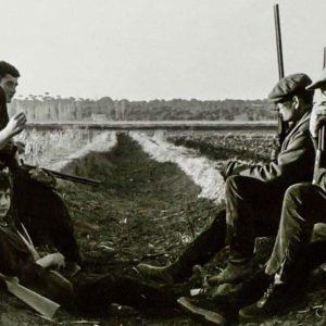 Esta fue la cuadrilla de cazadores que acompañó a Miguel Delibes tras las perdices