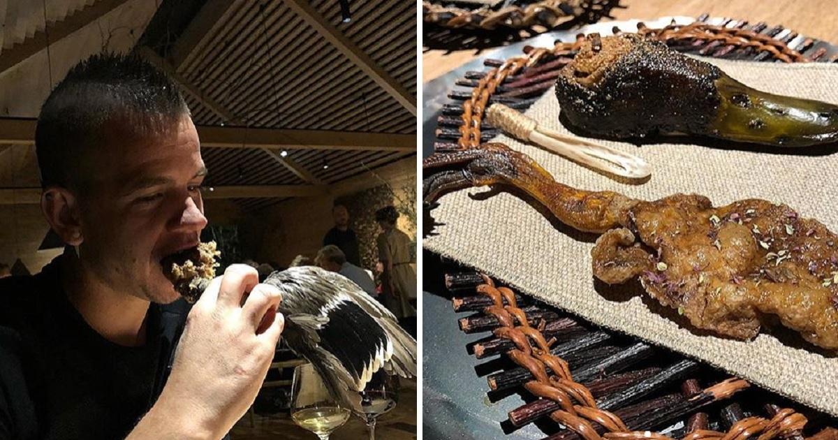 Dabiz Muñoz sorprende en las redes con este plato de carne de caza