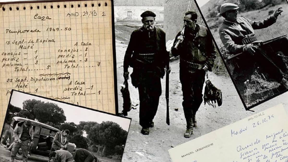 Miguel Delibes: diez inauditos manuscritos y fotos antiguas de caza