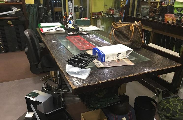 Espectacular robo en la Armería Argali de Madrid