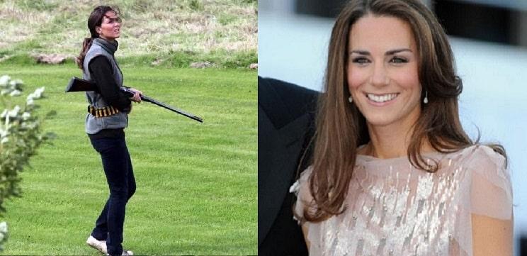 Kate Middleton muestra su afición por la caza