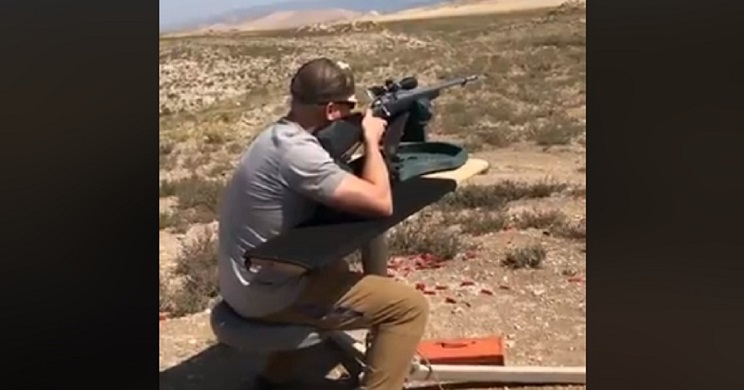 disparo arma obstruida